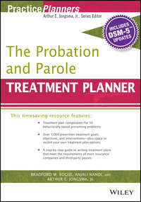 Обложка «The Probation and Parole Treatment Planner, with DSM 5 Updates»