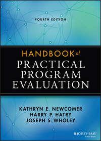 Обложка «Handbook of Practical Program Evaluation»