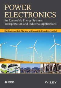 Обложка «Power Electronics for Renewable Energy Systems, Transportation and Industrial Applications»