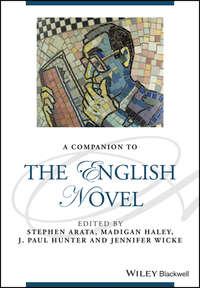 Обложка «A Companion to the English Novel»