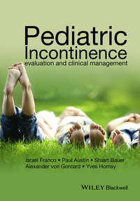 Обложка «Pediatric Incontinence. Evaluation and Clinical Management»