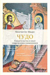 Обложка «Чудо. Свидетельства и опыт современных священников»