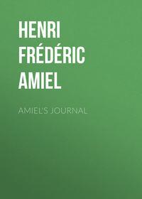 Обложка «Amiel's Journal»