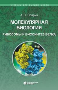 Обложка «Молекулярная биология. Рибосомы и биосинтез белка»