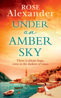 Обложка «Under an Amber Sky: A Gripping Emotional Page Turner You Won't Be Able to Put Down»