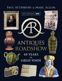 Обложка «Antiques Roadshow: 40 Years of Great Finds»