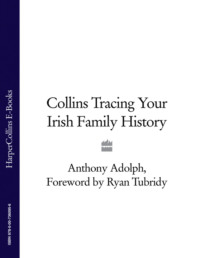 Обложка «Collins Tracing Your Irish Family History»