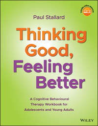 Обложка «Thinking Good, Feeling Better. A Cognitive Behavioural Therapy Workbook for Adolescents and Young Adults»