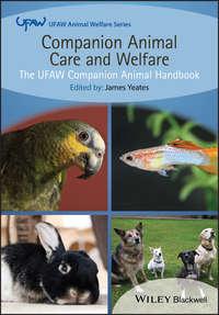 Обложка «Companion Animal Care and Welfare. The UFAW Companion Animal Handbook»