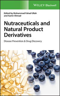 Обложка «Nutraceuticals and Natural Product Derivatives. Disease Prevention & Drug Discovery»