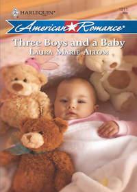 Обложка «Three Boys and a Baby»