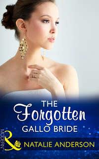 Обложка «The Forgotten Gallo Bride»