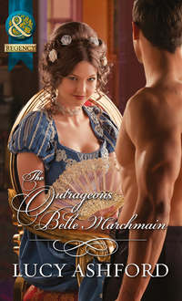 Обложка «The Outrageous Belle Marchmain»