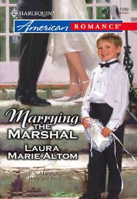Обложка «Marrying the Marshal»