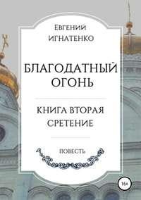 Обложка «Благодатный огонь, книга вторая. «Сретение»»