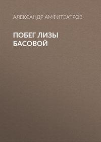 Обложка «Побег Лизы Басовой»