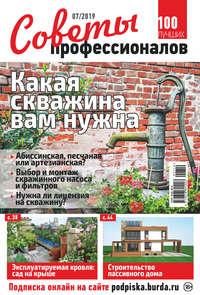Обложка «Советы профессионалов №07/2019»