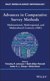 Обложка «Advances in Comparative Survey Methods»