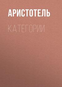 Обложка «КАТЕГОРИИ»