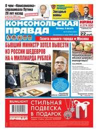 Обложка «Комсомольская Правда. Москва 87-2019»