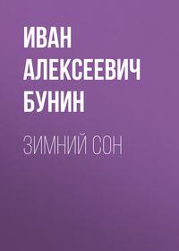 Обложка «Зимний сон»