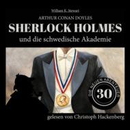 Sherlock Holmes und die schwedische Akademie - Die neuen Abenteuer, Folge 30 (Ungekürzt)