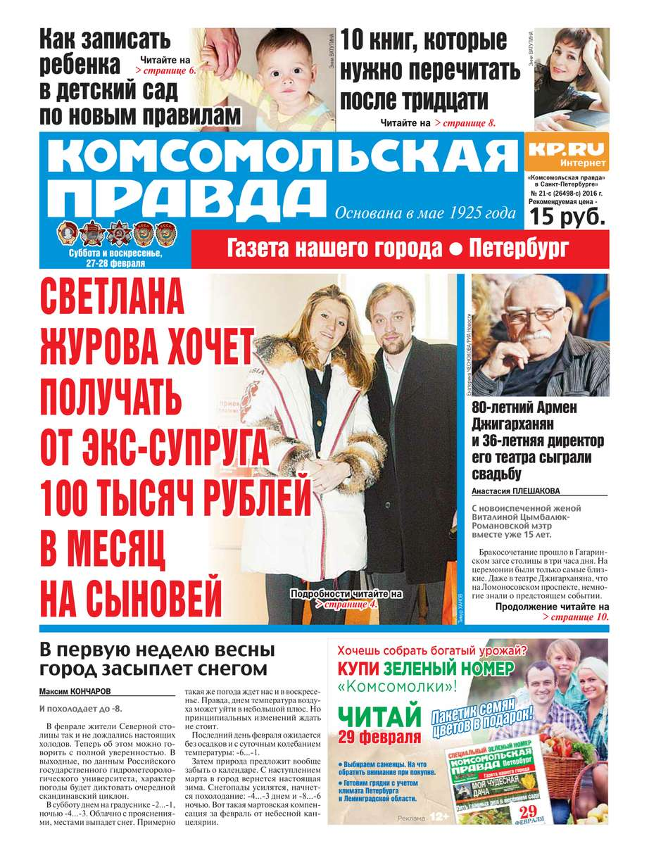 Редакция газеты Комсомольская Правда. - Комсомольская правда. - 21с