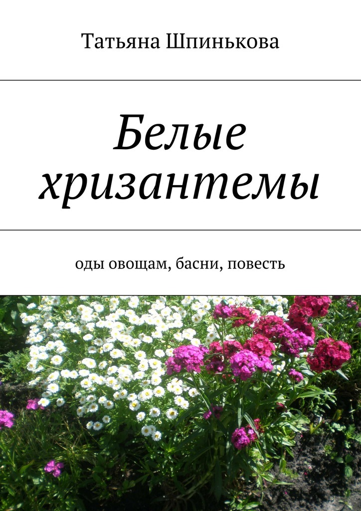 Татьяна Шпинькова Белые хризантемы