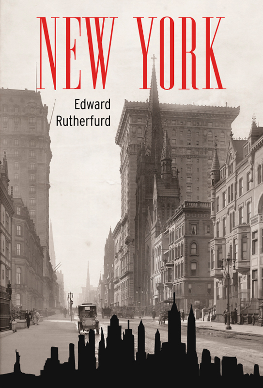 Edward Rutherfurd New York printio уэбб эллис