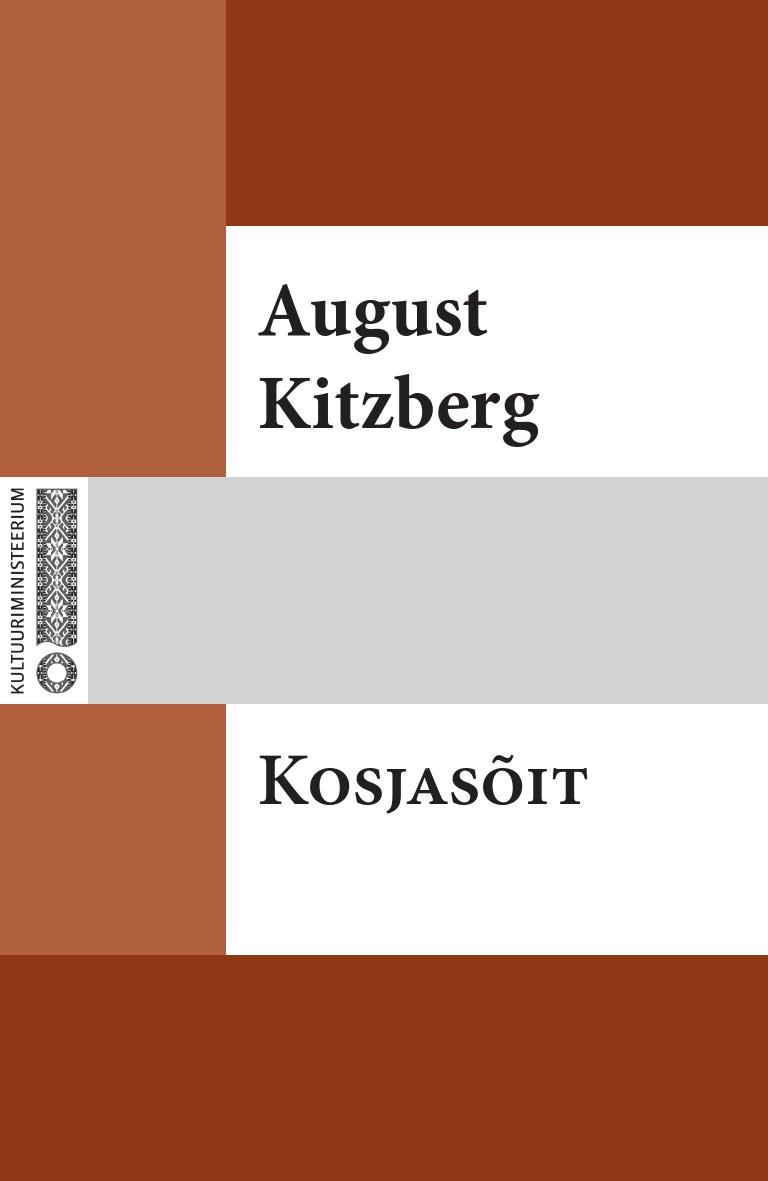August Kitzberg Kosjasõit august kitzberg külajutud