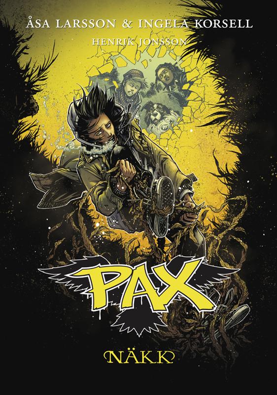 Оса Ларссон Näkk. Pax: 6. raamat åsa larsson näkk pax 6 raamat