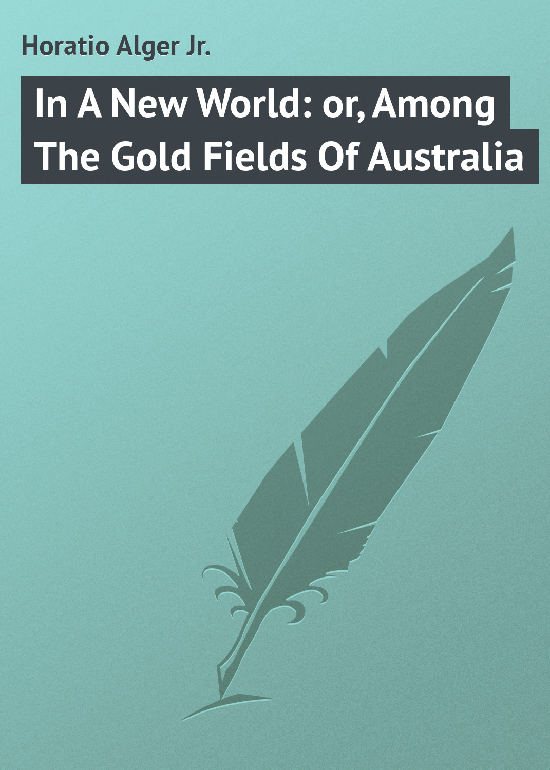 Alger Horatio Jr. In A New World: or, Among The Gold Fields Of Australia цена 2017