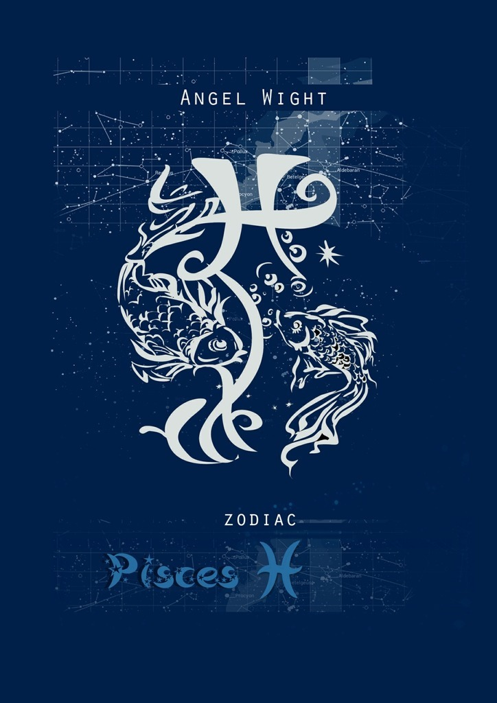 Angel Wight Pisces. Zodiac