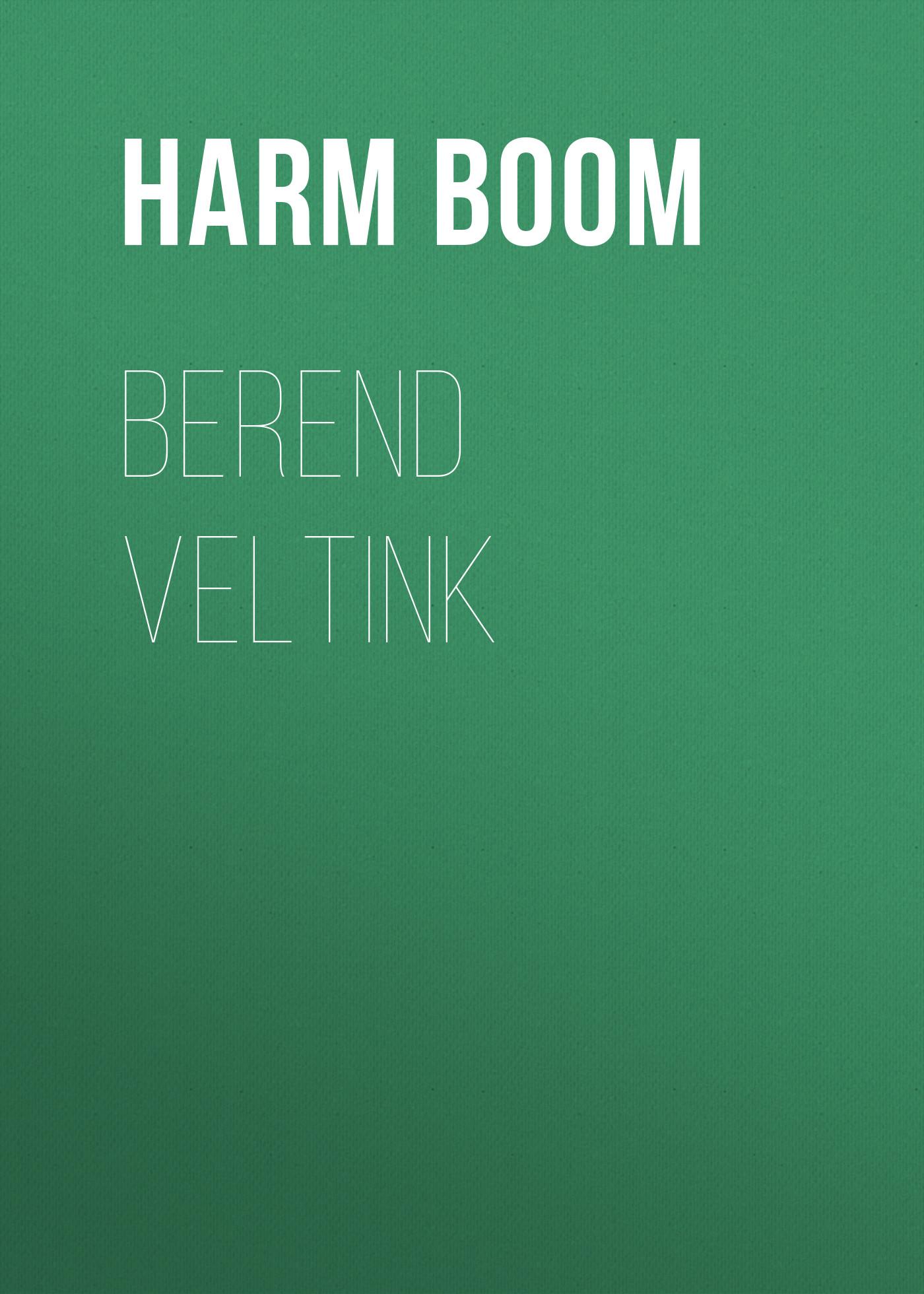 Boom Harm Berend Veltink safe from harm