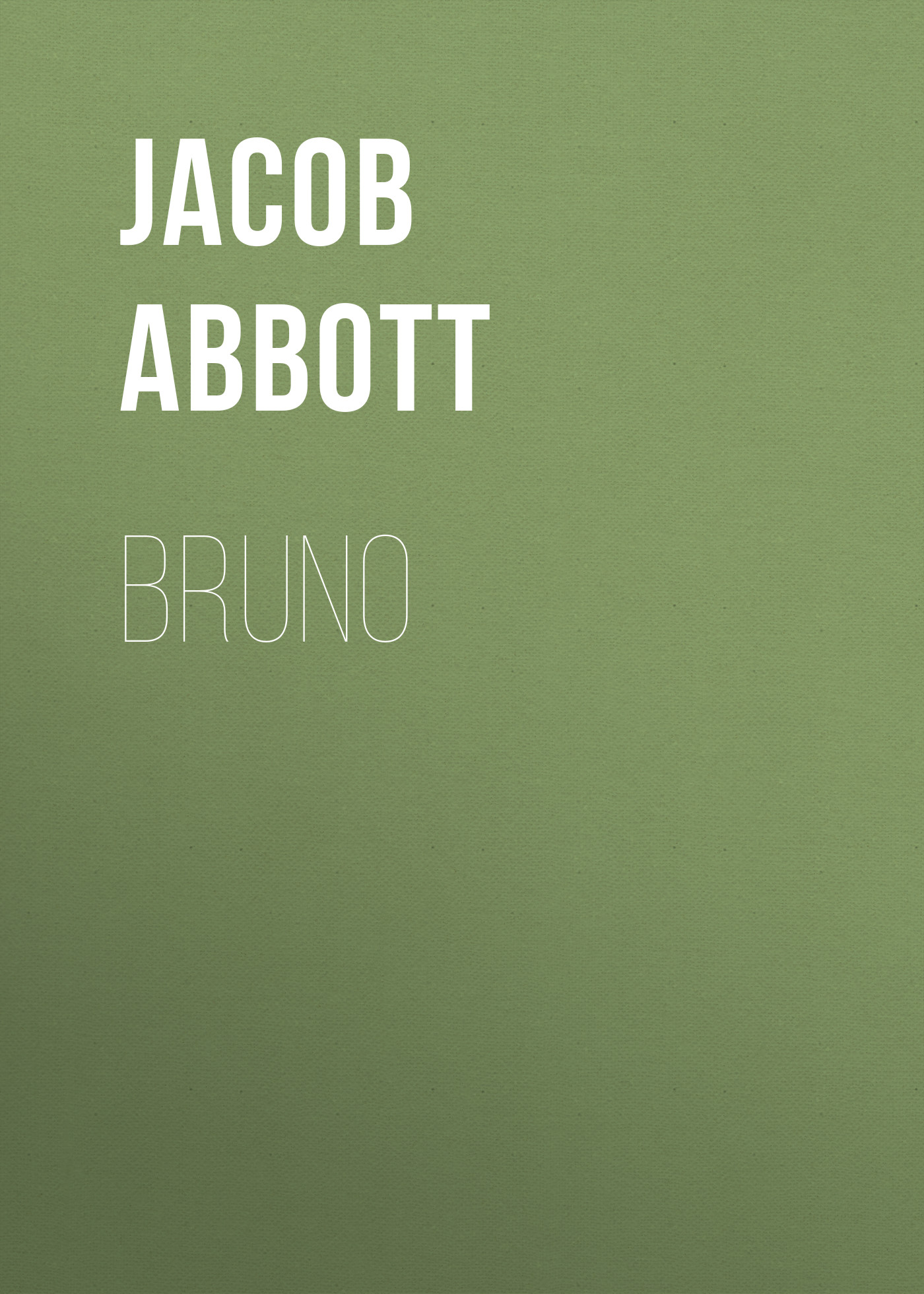 Abbott Jacob Bruno abbott jacob nero