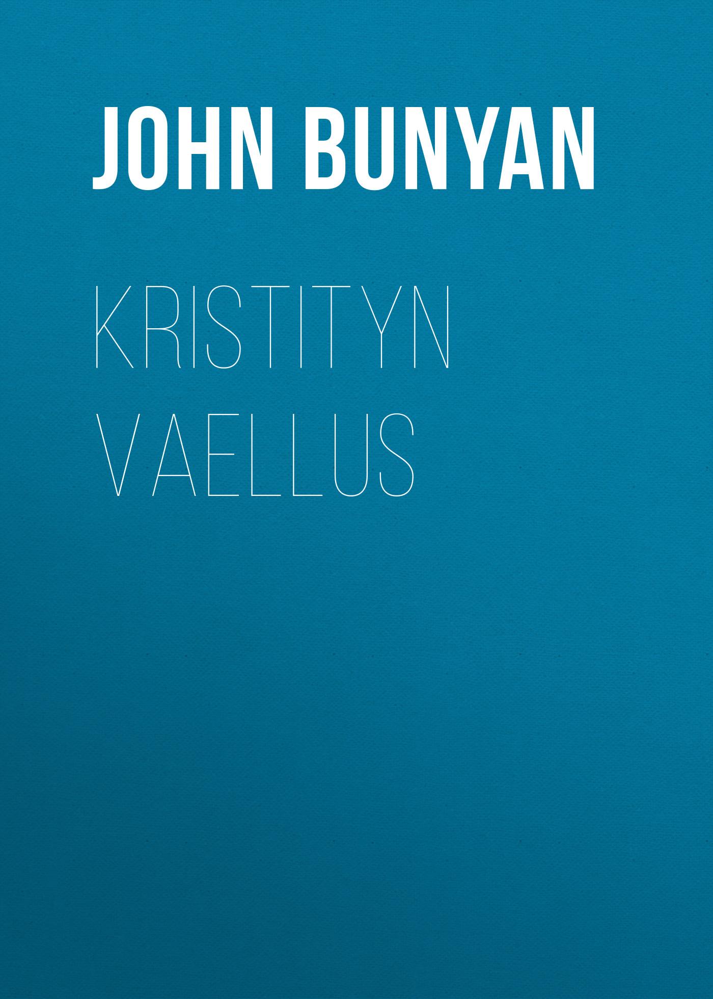 John Bunyan Kristityn vaellus