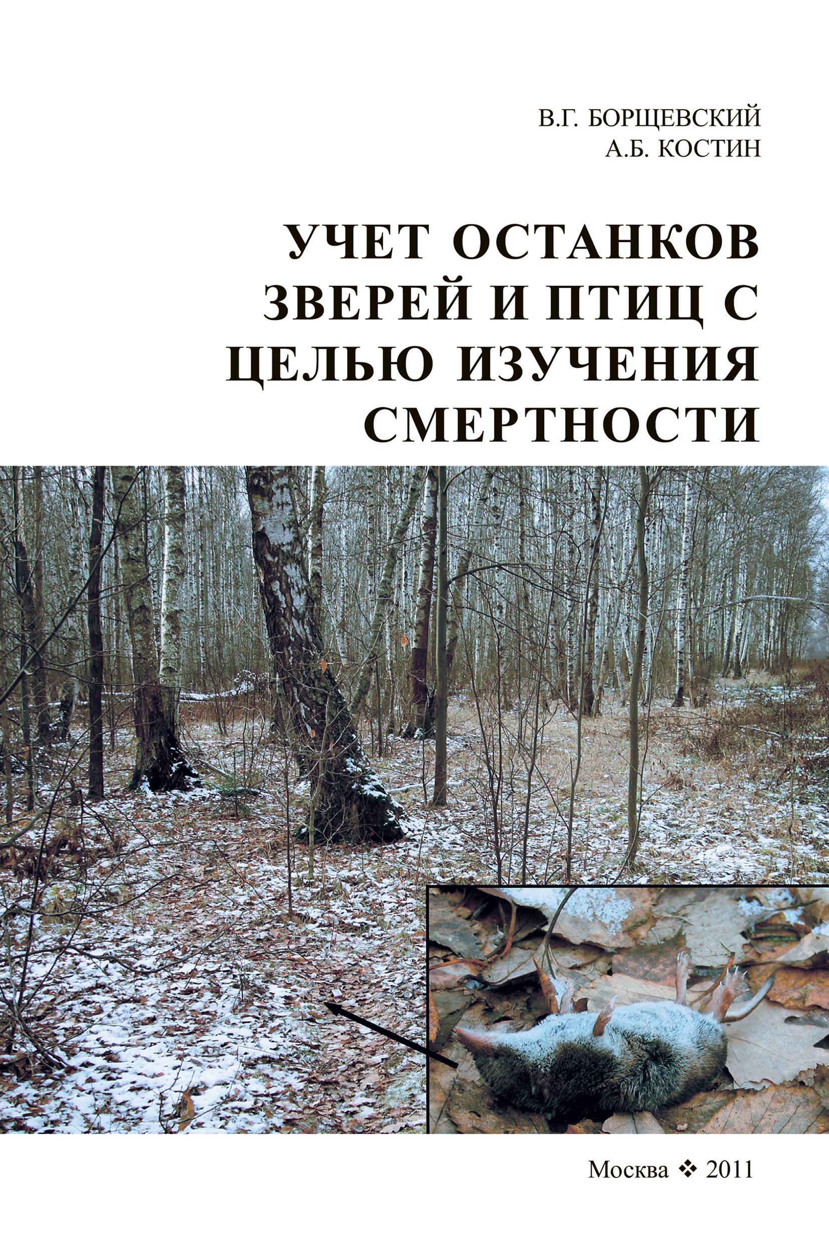 В. Г. Борщевский Учет останков зверей и птиц в целях изучении смертности школа в лесу для птиц и зверей 3 книга третья