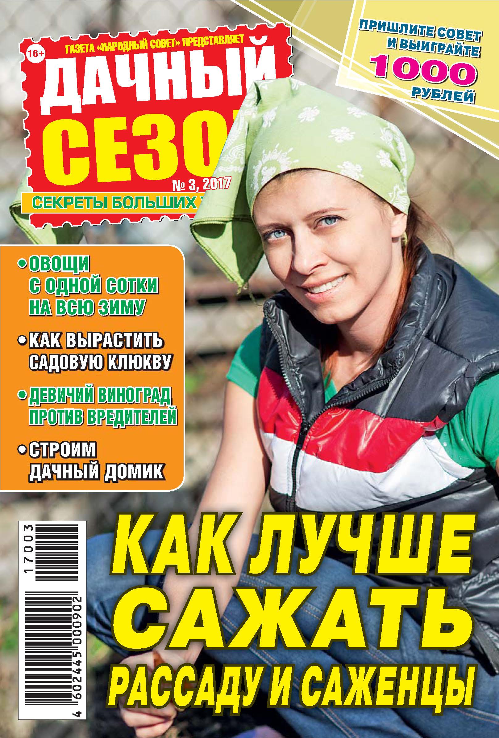 Отсутствует Дачный сезон №03/2017 gorenje vc2223glr