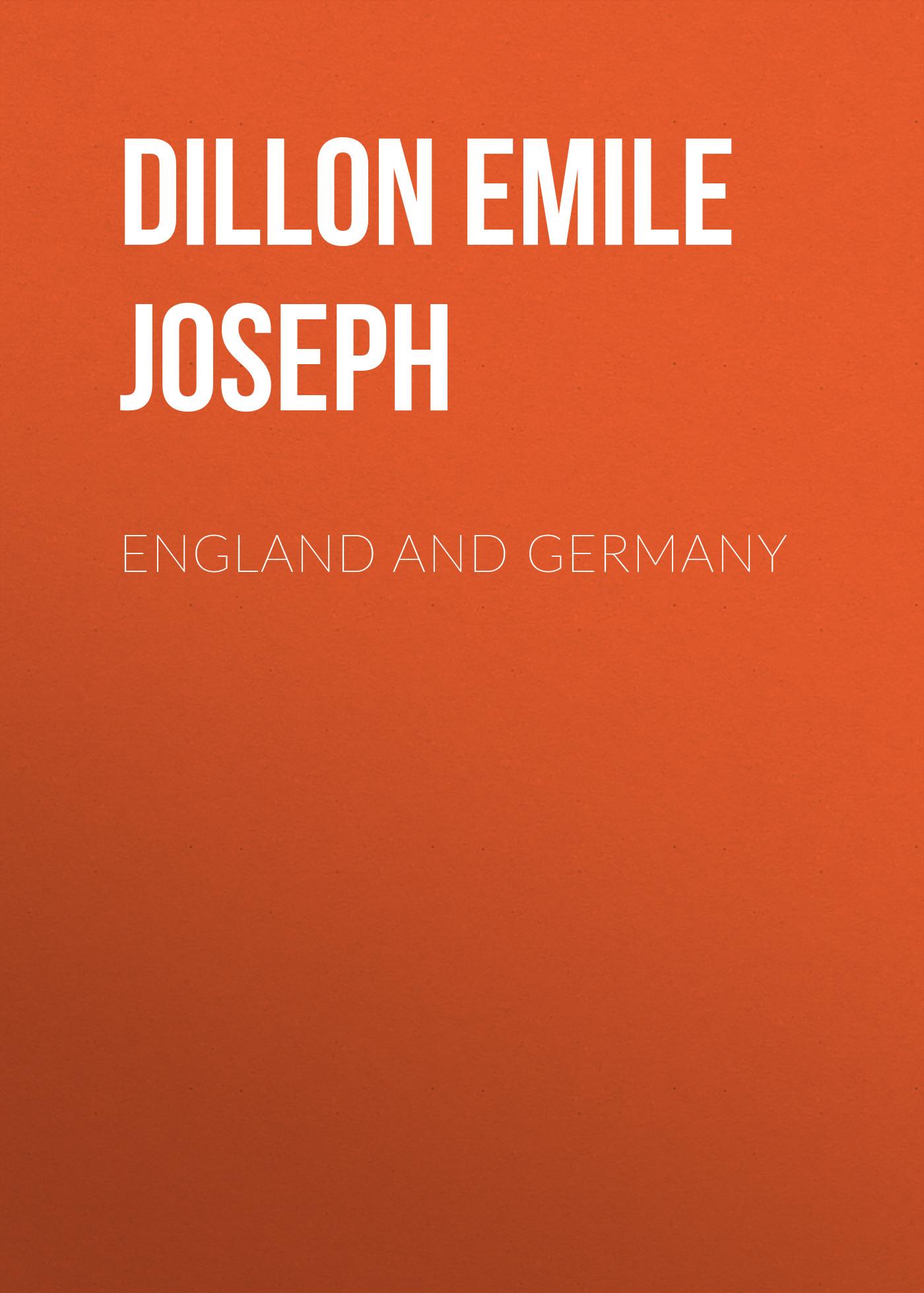 Dillon Emile Joseph England and Germany dillon emile joseph england and germany