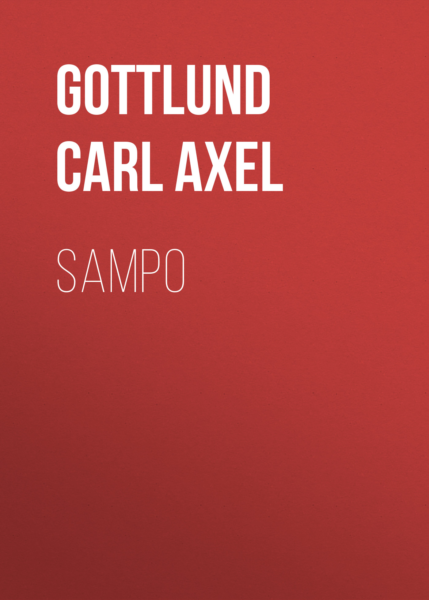 Gottlund Carl Axel Sampo