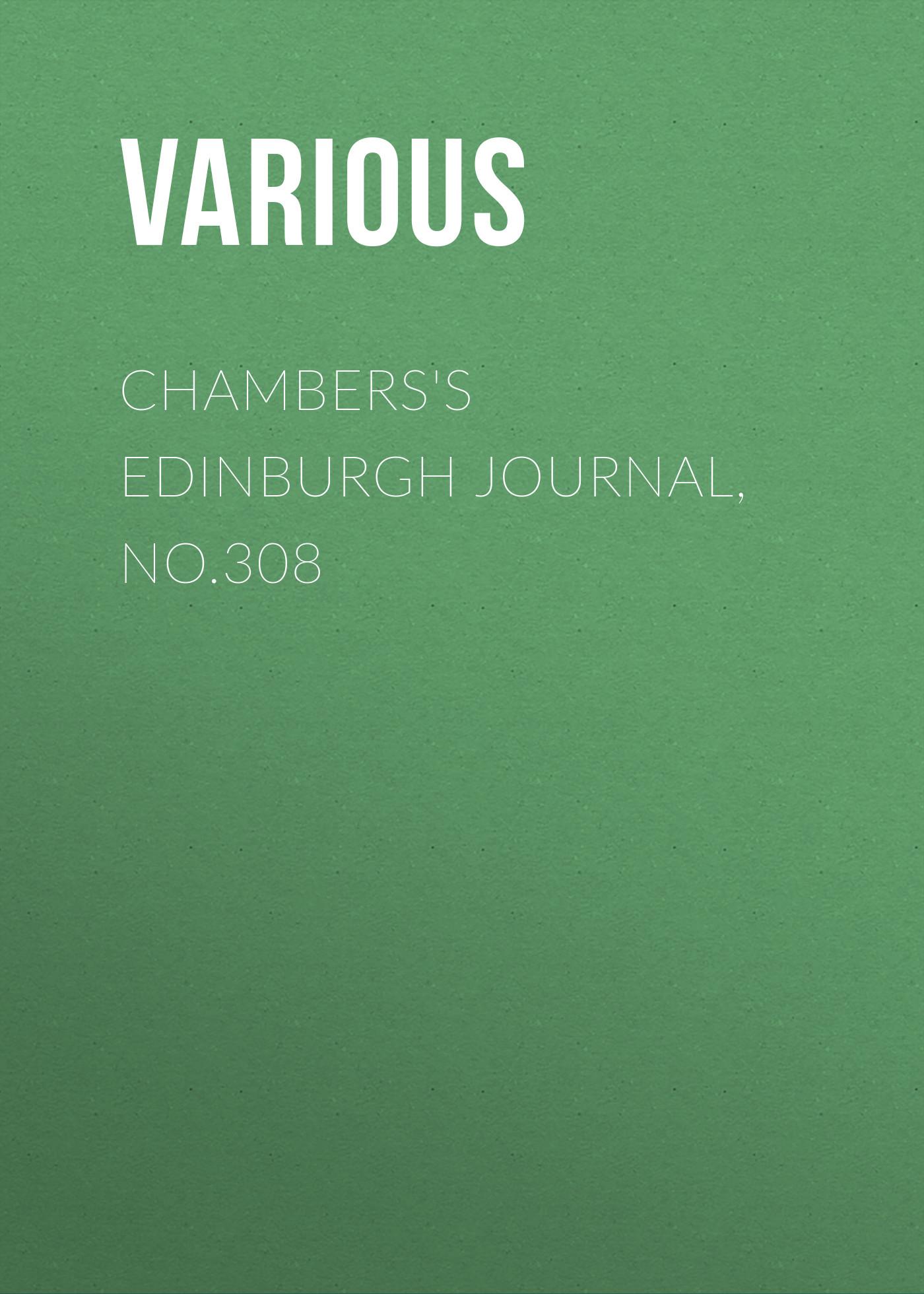 Various Chambers's Edinburgh Journal, No.308 lau edinburgh