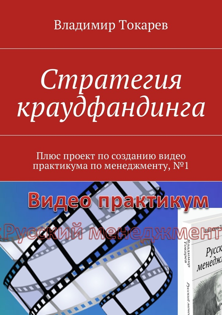 Владимир Токарев Стратегия краудфандинга. Плюс проект по созданию видео практикума по менеджменту, №1