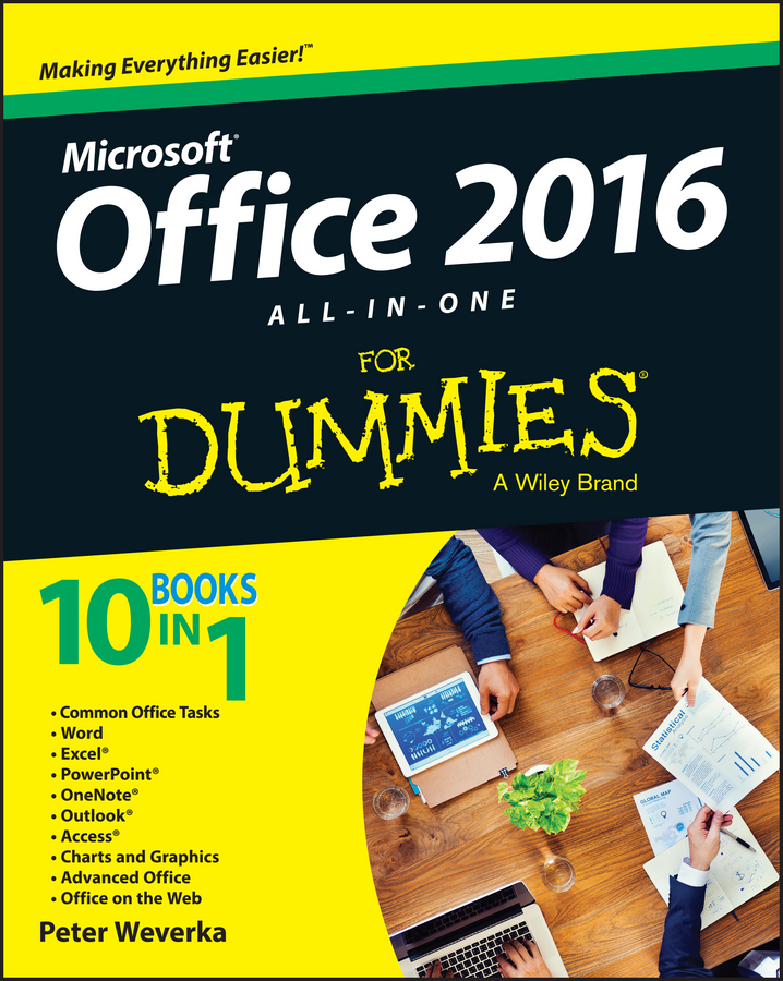 Peter Weverka Office 2016 All-In-One For Dummies peter weverka office 2016 all in one for dummies