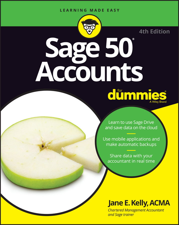 Jane Kelly E. Sage 50 Accounts For Dummies
