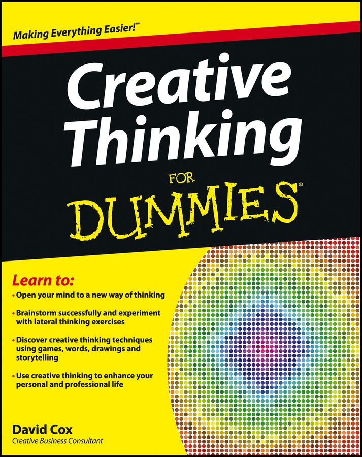 David Cox Creative Thinking For Dummies creative woven fruit and vegetable basket