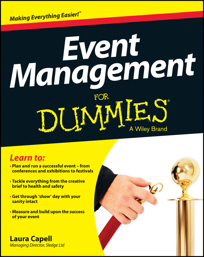 Laura Capell Event Management For Dummies event