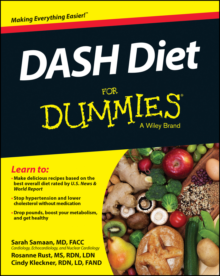 Cynthia Kleckner DASH Diet For Dummies the real you diet