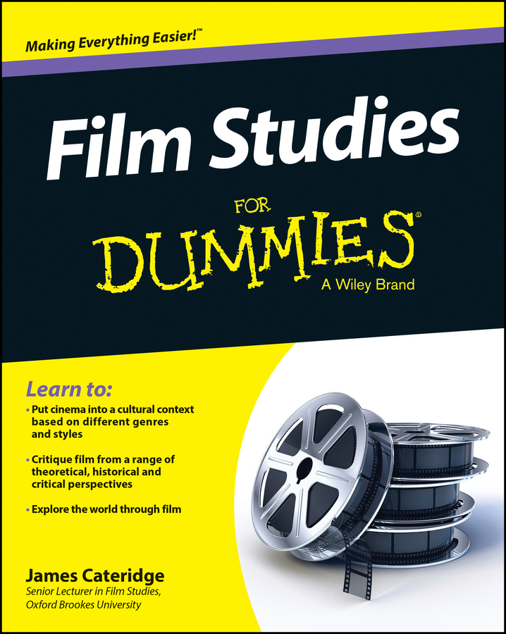 James Cateridge Film Studies For Dummies cosmopolis film tie in