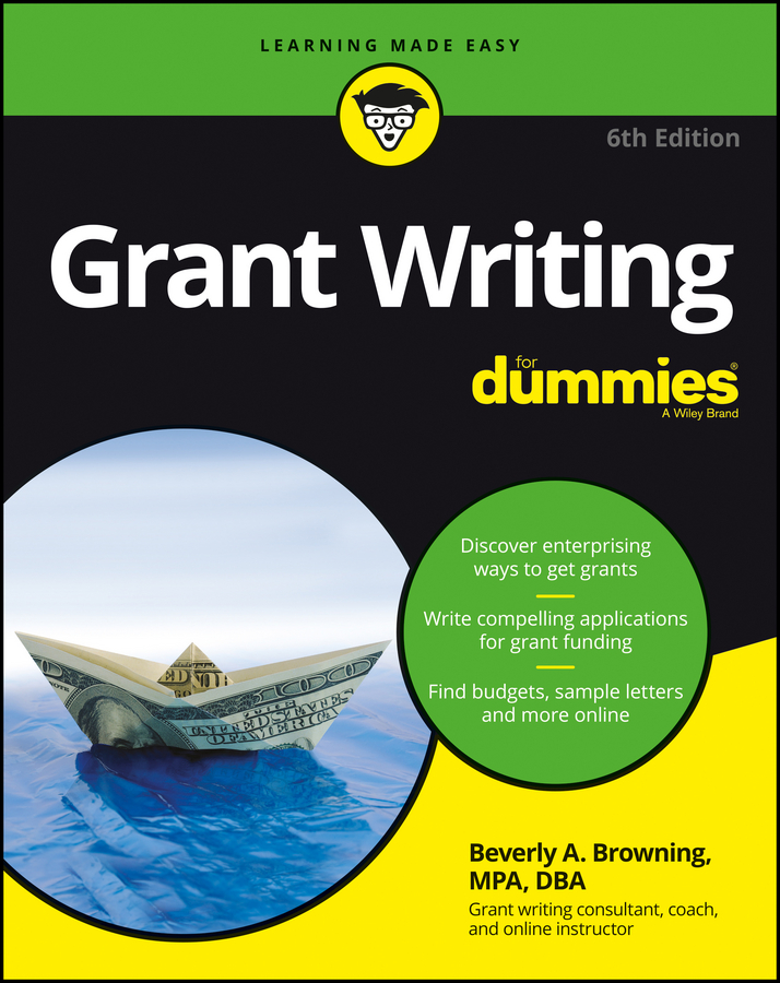 Beverly Browning A. Grant Writing For Dummies grant m parasite