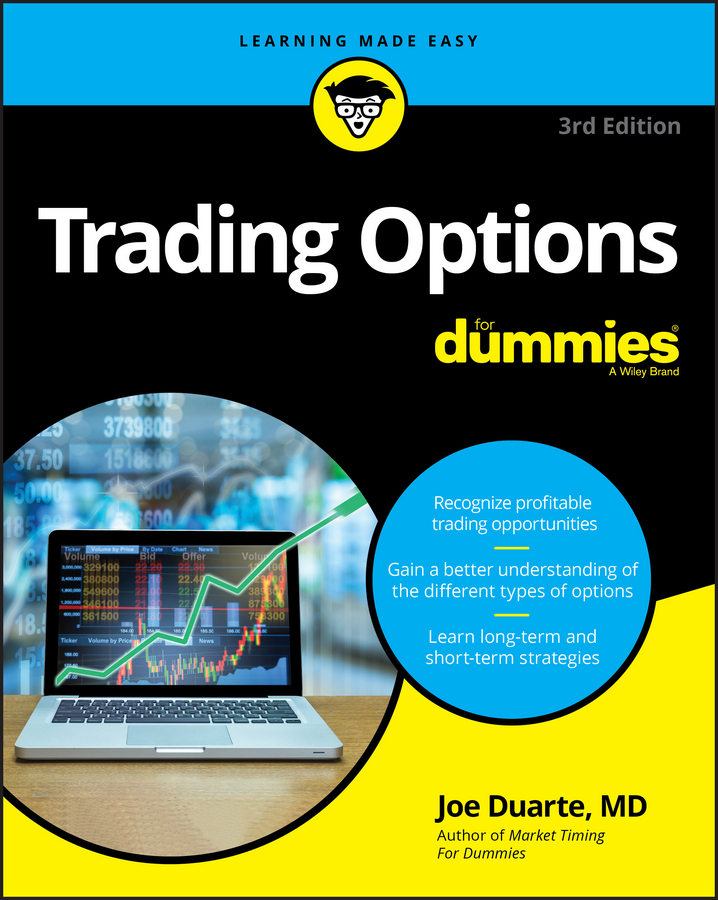Joe Duarte Trading Options For Dummies coccinelle брелок для ключей
